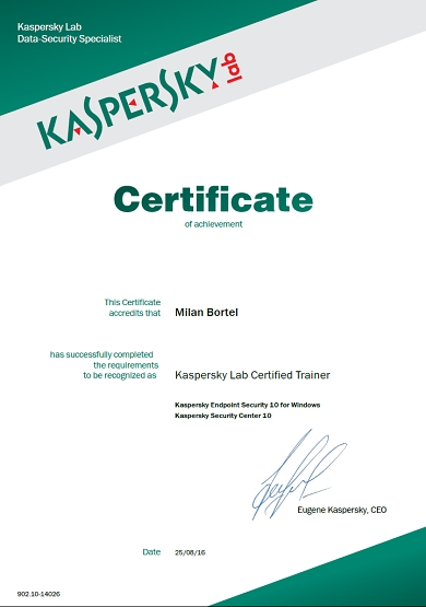 KL - Certified Trainer